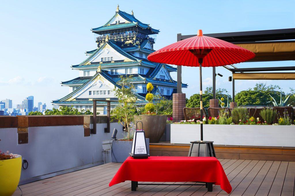 大阪城を目前に日本文化の粋を体感「大阪城大茶会」~かつて秀吉が開催した北野大茶会を大阪城で再現~